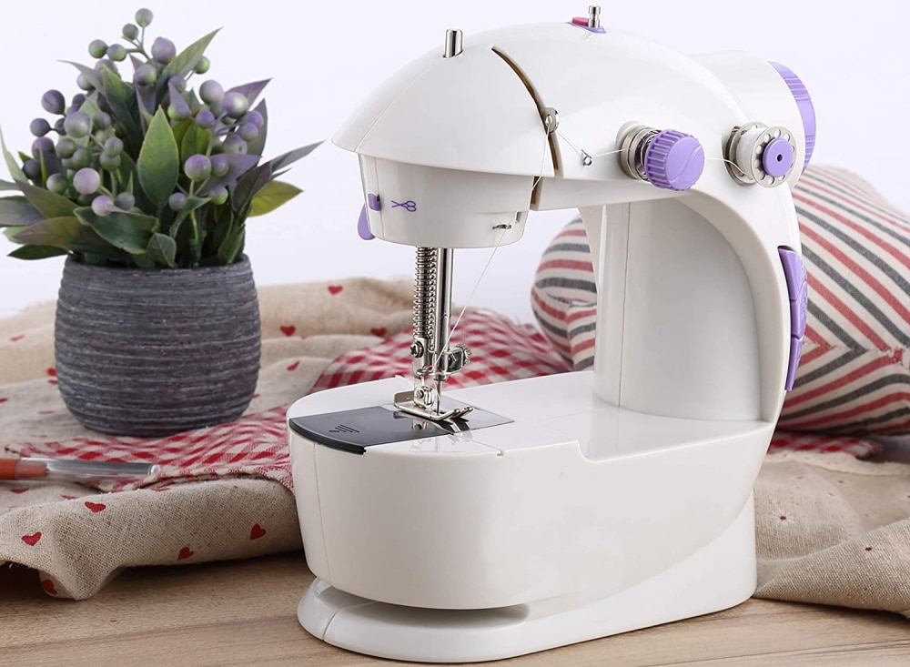 6 Most Compact and Portable Sewing Machines – Take It Wherever You Need It!