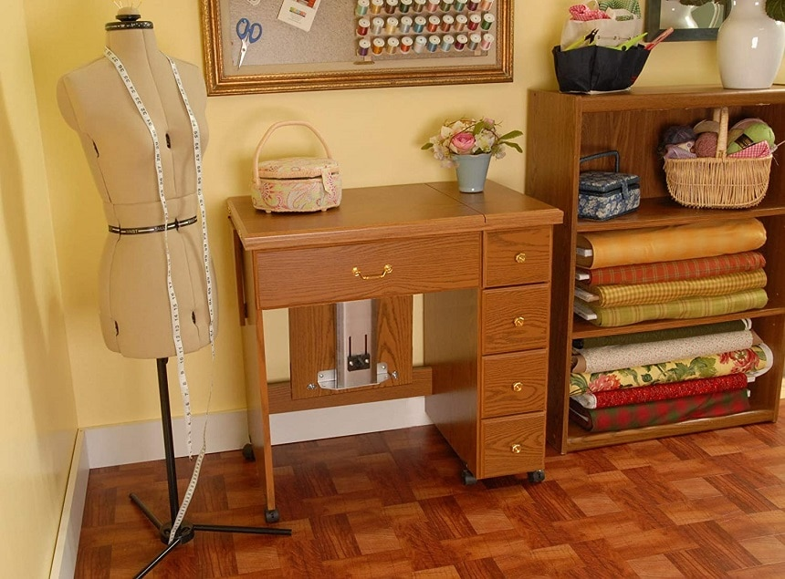 9 Reliable Sewing Tables - Perfect Storage and Work Space