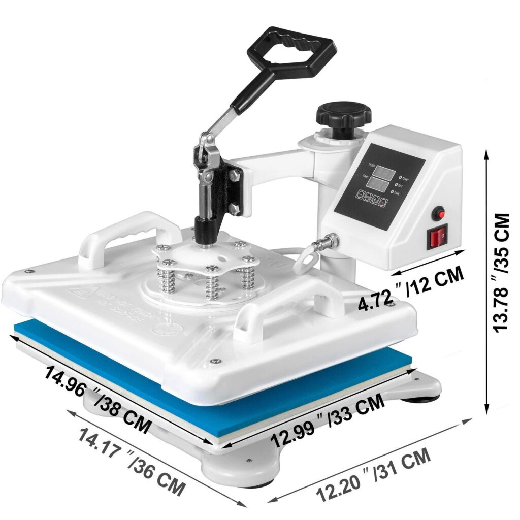 Vevor Heat Press Review: 5-in-1 Functionality for Various Projects